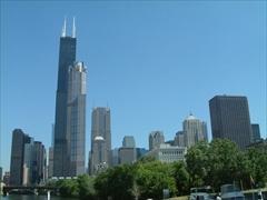 シカゴの高層ビル