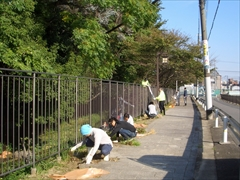 2011年環濠清掃2