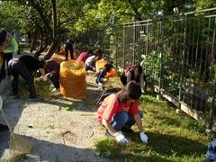 2007年環濠清掃1