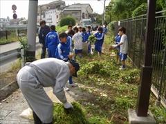2008年環濠清掃1