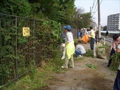 2008年環濠清掃2