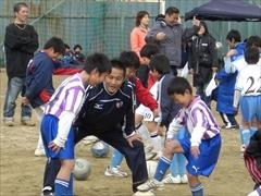 第1回平野杯サッカー教室