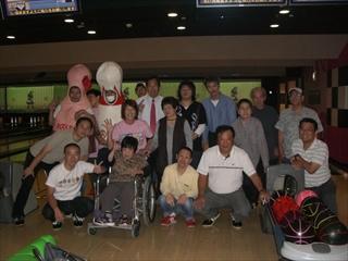 2012年ボーリング大会記念撮影