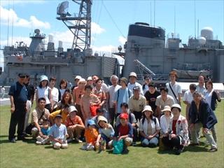 ふれあい乗船会2003