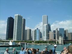 シカゴのビル群
